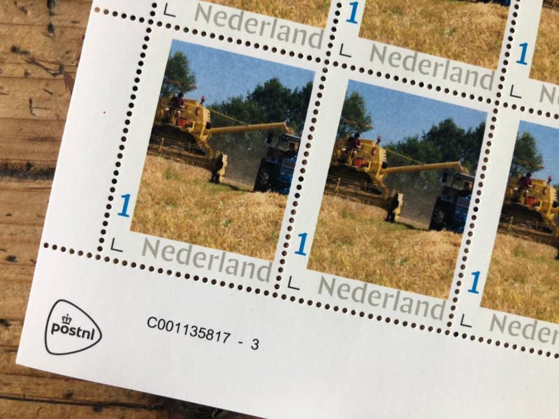 Bus Whisky postzegelvel   Collection Edition Grain to Glas   10 stuks