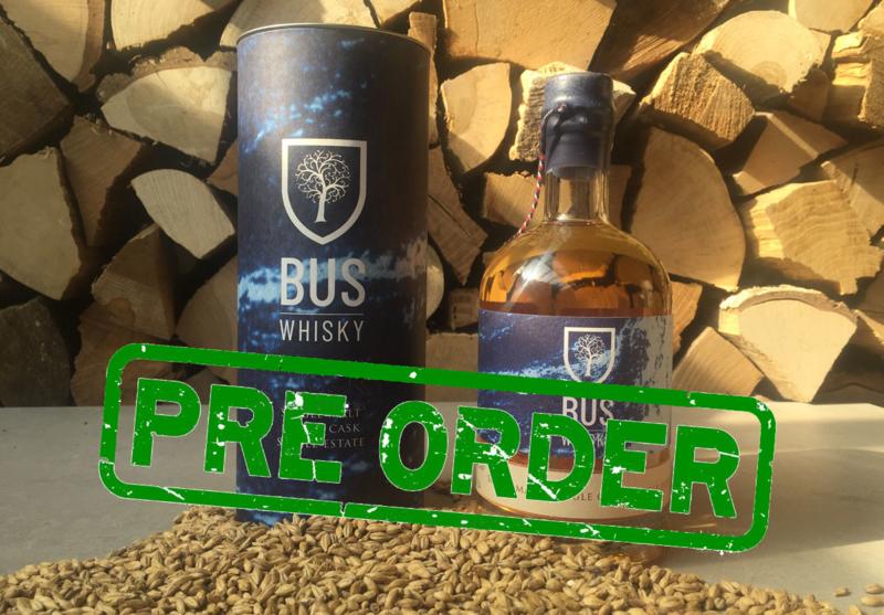 Bus Whisky no4 - fles 50cl + koker