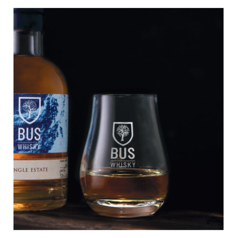 Bus Whisky glas