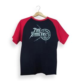 Camiseta Tetraktys Negro Rojo