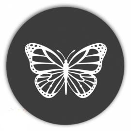 muurcirkel vlinder antraciet