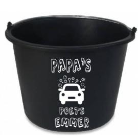 Papa's/opa's Poets emmer sticker