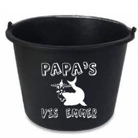 Emmer sticker papa's/opa's vis emmer