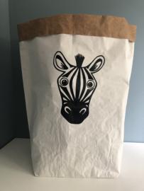 Paperbag xxl zebra
