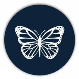 Muurcirkel vlinder navy