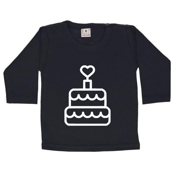 verjaardag shirt taart