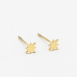 North star studs | goud