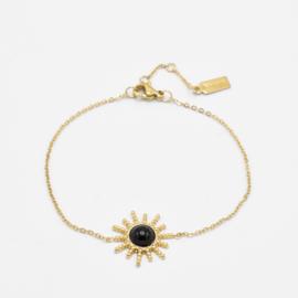 Sun bracelet | Goud