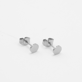 Circle studs | Zilver