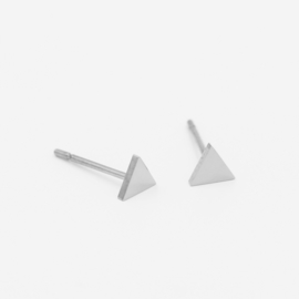 Triangle studs | zilver