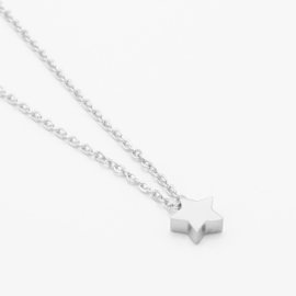 Star necklace | Zilver