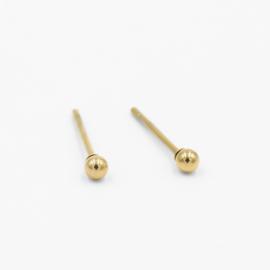 Basic studs dot 2.5 mm | goud