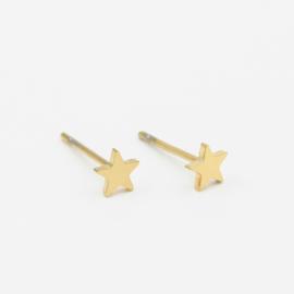 Star studs | goud
