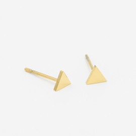 Triangle studs | goud