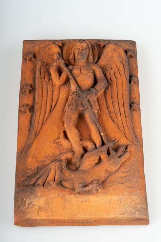Engel Michael met de draak