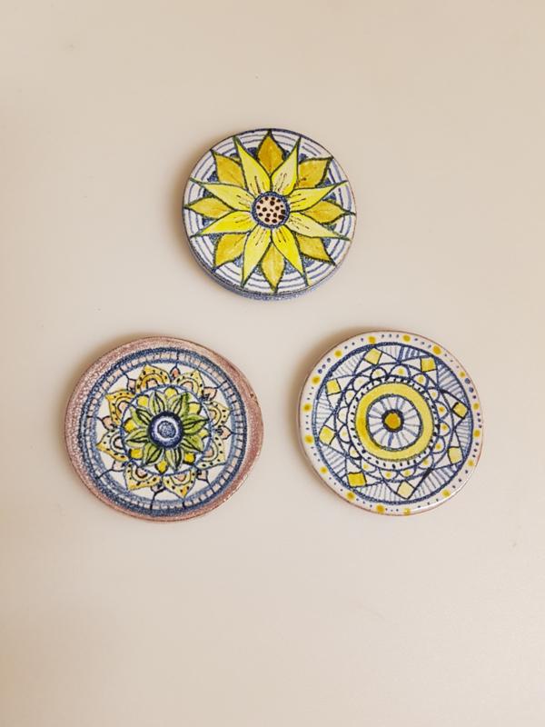 Magneet bloemen Lissy Odenhoven