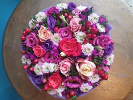 Bloemen Taart Diverse kleuren mogelijk