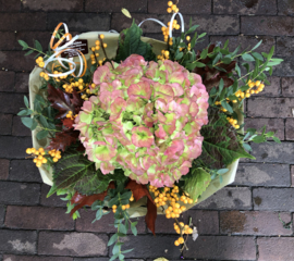 Herfstboeket hortensia