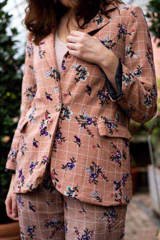 FLORAL Vest | Roze