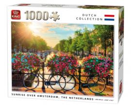 KING Sunrise Over Amsterdam 1000 Stukjes
