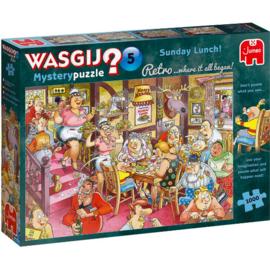 Wasgij Retro Mystery 5 Sunday Lunch 1000 Stukjes