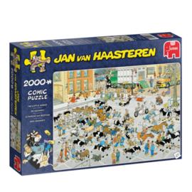 Jan van Haasteren De Veemarkt 1000 Stukjes