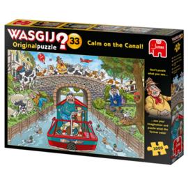 Wasgij Original 33 Calm On The Canal 1000 Stukjes