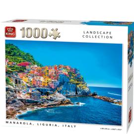 KING Manarola Italy 1000 Stukjes