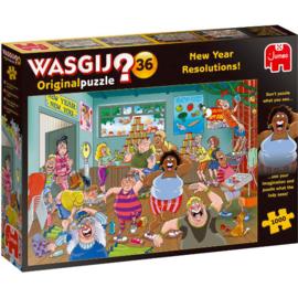 Wasgij Original 36 New Year Resolutions 1000 Stukjes