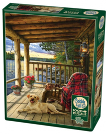 Cobble Hill Cabin Porch 1000 Stukjes