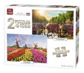 KING Dutch Collection 2 x 1000 Stukjes