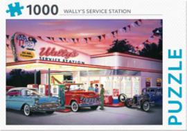 REBO Wally`s Service Station 1000 Stukjes