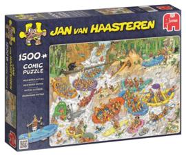Jan van Haasteren Wild Water Raften 1500 Stukjes