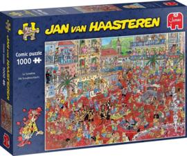 Jan van Haasteren Tomatengevecht 1000 Stukjes