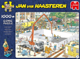 Jan van Haasteren Bijna Klaar 1000 Stukjes