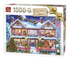 KING Christmas House 1000 Stukjes