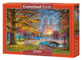 Castorland Autumn Stroll Central Park 1500 Stukjes