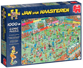 Jan van Haasteren WK Vrouwenvoetbal 1000 Stukjes