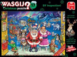 Wasgij Christmas 17 Elf Inspection 1000 Stukjes
