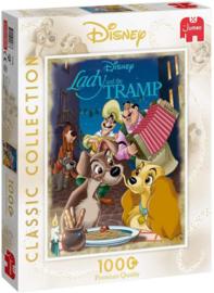 JUMBO Disney Lady En De Vagebond 1000 Stukjes