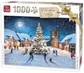 KING Christmas Village 1000 Stukjes