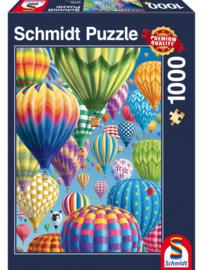 Schmidt Bonte Ballonnen 1000 Stukjes
