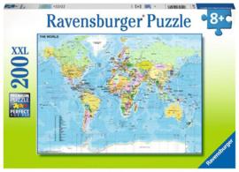 Ravensburger Wereldkaart 200 XXL