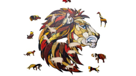 Eco Wood Art Lion 100 Stukjes