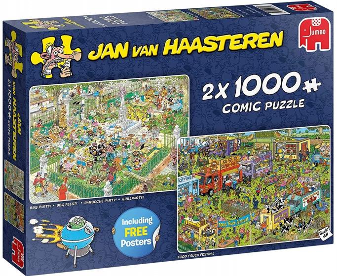 Jan van Haasteren 2 in 1 Food Truck Festival + BBQ Party