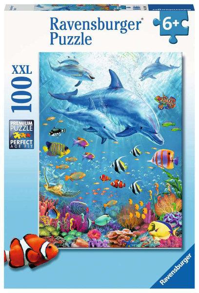 Ravensburger Bijeenkomst Van De Dolfijnen 100 XXL