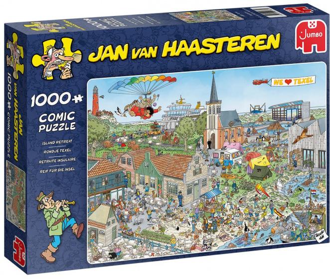 Jan van Haasteren Rondje Texel 1000 Stukjes