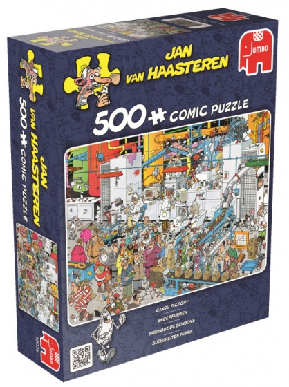 Jan van Haasteren Snoepfabriek 500 Stukjes