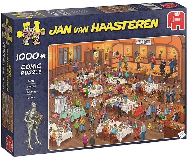 Jan van Haasteren Darts 1000 Stukjes