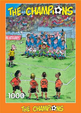 The Champions - Vol Doel 1000 Stukjes
